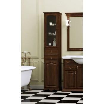 Шкаф для ванной напольный Opadiris Риспекто Пенал Орех
