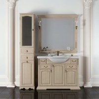 Мебель для ванной комнаты Opadiris Риспекто 100 Белый
