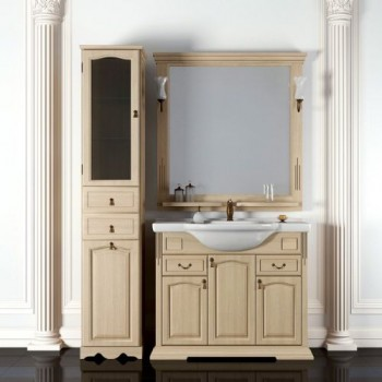 Мебель для ванной комнаты Opadiris Риспекто 95 Белый
