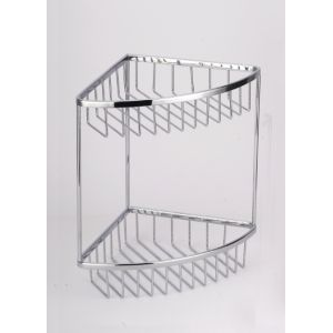 Полка-решетка угловая двойная Sanartec 151010