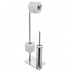 Стойка с ершиком и держателем туалетной бумаги Cameya 101-1F
