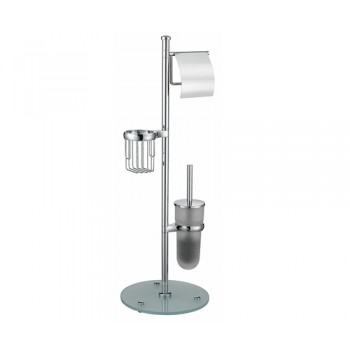 Стойка для ершика туалетной бумаги и освежителя WasserKRAFT K-1256