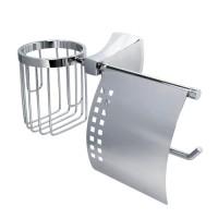 Держатель для туалетной бумаги и освежителя WasserKRAFT Wern К-2559