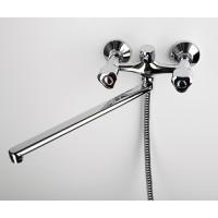 Смеситель для ванны с длинным изливом Amper 2902L