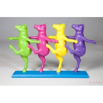 """Декоративная фигурка """"Танцующие коровы"""" цветная 34508"""