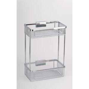Полка для ванной комнаты металлическая Sanartec 170310