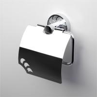 Держатель для туалетной бумаги с крышкой WasserKRAFT Isen К-4025