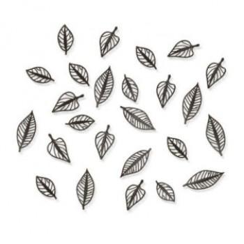 """Декор для стен """"Листья"""" 470400-213Espresso"""
