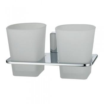 Стакан для зубных щеток двойной WasserKRAFT Leine К-5028D