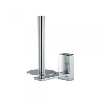 Держатель для туалетной бумаги вертикальный WasserKRAFT Leine К-5097