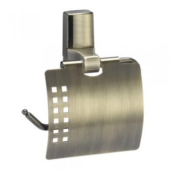 Держатель для туалетной бумаги с крышкой WasserKRAFT Exter К-5225