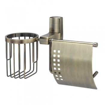 Держатель для туалетной бумаги и освежителя WasserKRAFT Exter К-5259