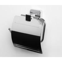 Держатель для туалетной бумаги с крышкой WasserKRAFT Lippe К-6525
