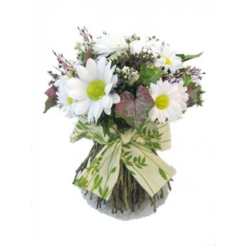 """Искусственные цветы """"Букет с ромашками"""" D-D70010"""