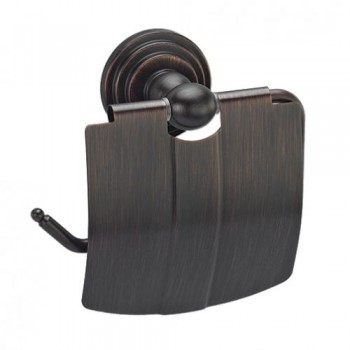Держатель для туалетной бумаги с крышкой WasserKRAFT Isar К-7325
