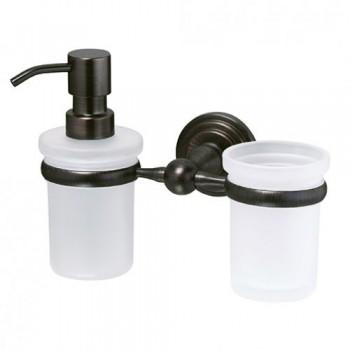 Стакан и дозатор для жидкого мыла WasserKRAFT Isar К-7389