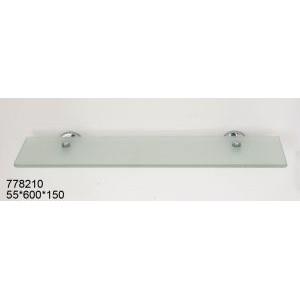 Полка стеклянная Sanartec 778210