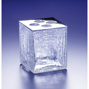 Стакан для зубных щеток настольный Windisch Box Craquele 83128CR