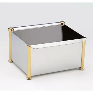 Салфетница Windisсh Сylinder plain 87110CRO хром/золото