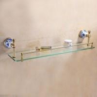 Полка стеклянная 65 см Sanartec 881005