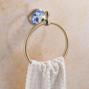 Кольцо для полотенца Sanartec 881007