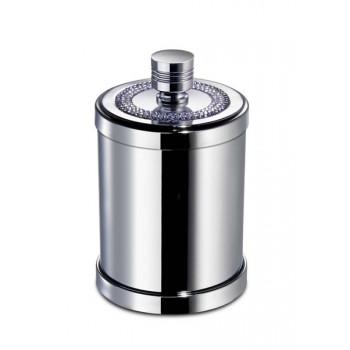 Баночка для ватных дисков и шариков Windisсh Shine Light 3 Lines Swarovski 88534CR