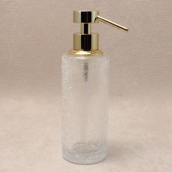 Дозатор для жидкого мыла золотой Windisch Addition Craquele Gold 90414O