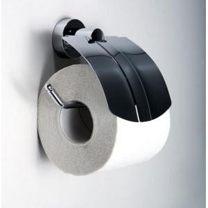 Держатель для туалетной бумаги с крышкой WasserKRAFT Donau K-9425
