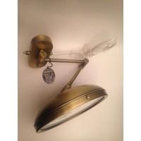 Зеркало косметическое с подсветкой Windisch 99150 OV бронза (2х)