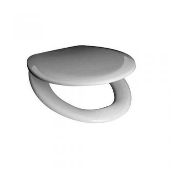 Крышка для унитаза Arcade AR002 белая петли хром