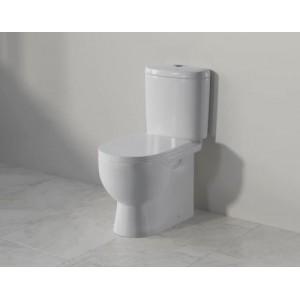 Унитаз-компакт напольный Sanita Luxe Art с арматурой и сиденьем с микролифтом ARTSLCC01040622
