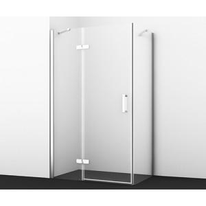 Душевой уголок без поддона Aller 10H06LWHITE 120х80 см с левой распашной дверью