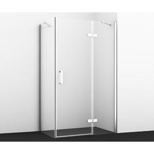 Душевой уголок без поддона Aller 10H06RWHITE 120х80 см с правой распашной дверью