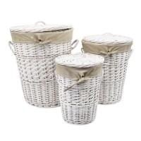 Плетеная корзина для белья Aller WB-106-L