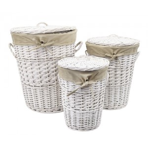 Плетеная корзина для белья Wasserkraft Aller WB-106-L