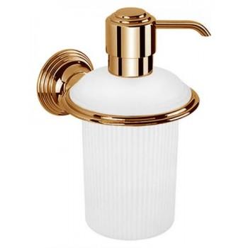 Дозатор для жидкого мыла настенный Colombo Hermitage B9335.OA бронза