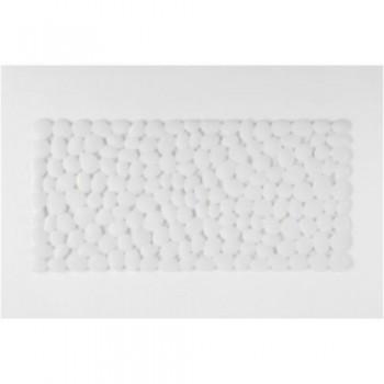 Коврик для ванной резиновый Andrea House белый BA62069