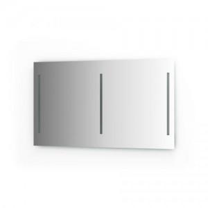 Зеркало для ванной со встроенными светильниками Lumline BY 2022 (130х75 см) 60W