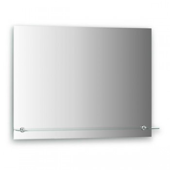 Зеркало с полкой (80х60) 0516