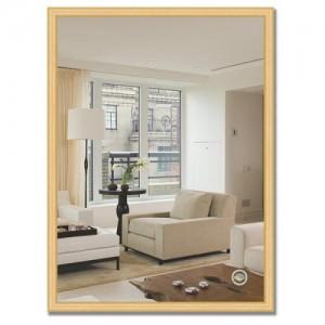 Зеркало в багетной раме BY 0635 сосна 57х77