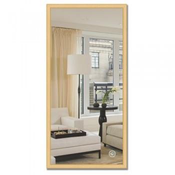 Зеркало в багетной раме BY 0687 сосна 47х97