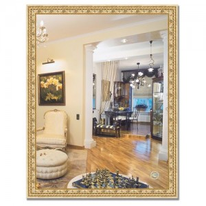 Зеркало в багетной раме BY 1038