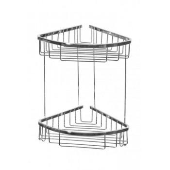 Полка-решетка угловая двойная Cameya CH-2