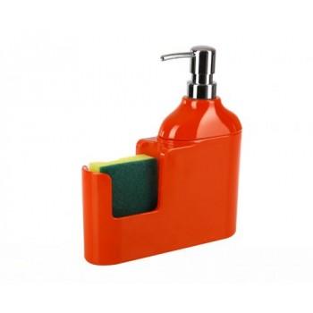 Дозатор для моющих жидкостей с губкой Veroni D-13160