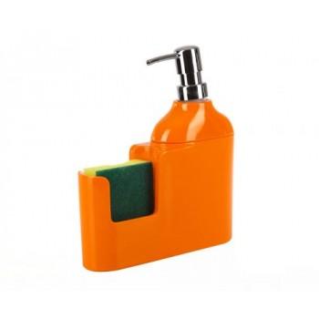 Дозатор для моющих жидкостей с губкой Veroni D-13161