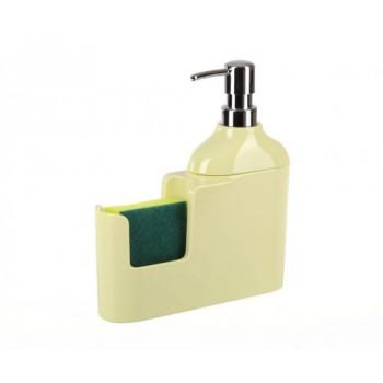 Дозатор для моющих жидкостей с губкой Veroni D-13163