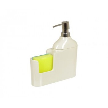 Дозатор для моющих жидкостей с губкой Veroni D-13165