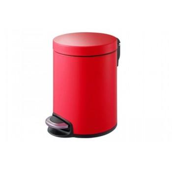 Ведро для мусора с педалью Classic Primanova D-15292 красное (5 л)