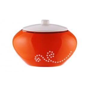 Контейнер для ватных палочек Maison D-15376 оранжевый