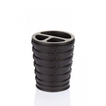 Стакан для зубных щёток Palm D-15932 коричневый